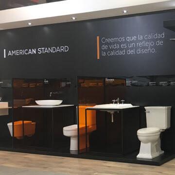 LA EXCLUSIVA MARCA PARA BAÑOS AMERICAN STANDARD LLEGA A LA CIUDAD DE MEDELLÍN